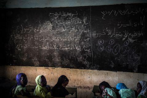 18 приголомшливих знімків з життя школярів Сенегалу