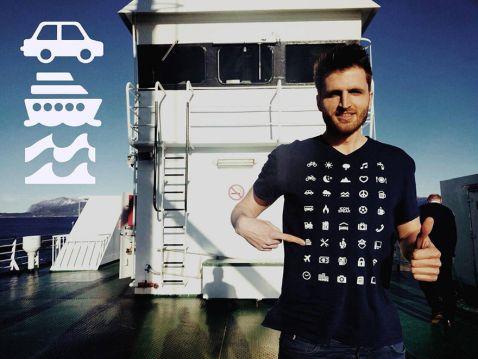 Тревел-футболка — геніальний винахід для мандрівників. Це просто бомба!