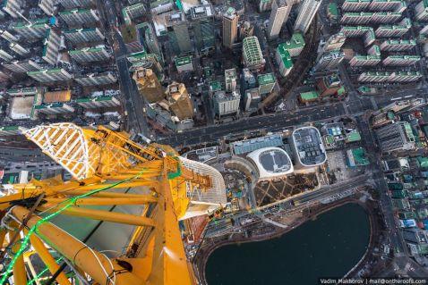 Lotte World Premium Tower. Сеул. Південна Корея