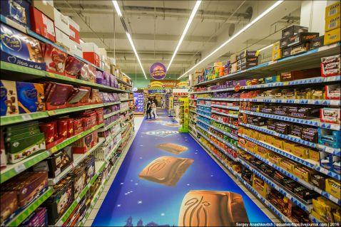 Дивовижні ціни на продукти в супермаркеті Праги