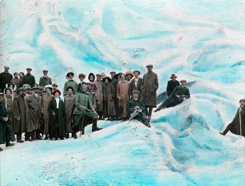 35 розфарбованих фото найпопулярніших туристичних місць Норвегії початку 20 століття