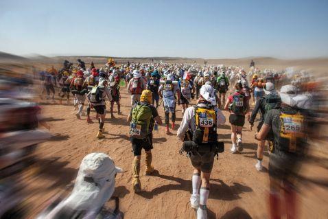 Піщаний марафон в Марокко — важке випробування на витривалість