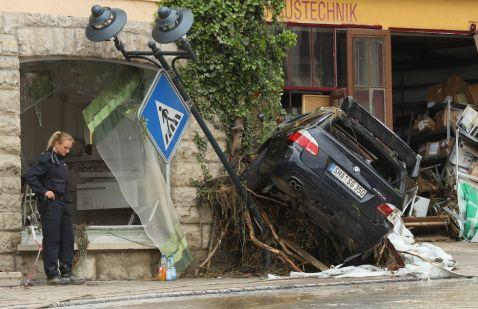 20 сумних фото наслідків нещодавньої повені в Німеччині