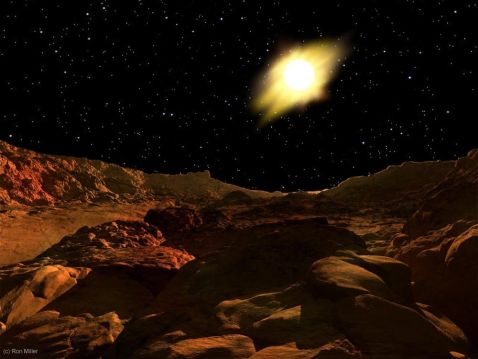 8 неймовірних ілюстрацій про те, як виглядає світанок на інших планетах