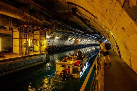 Російська підземна база підводних човнів в Балаклаві