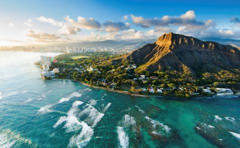 11 знімків прекрасних Гавайських островів з висоти пташиного польоту