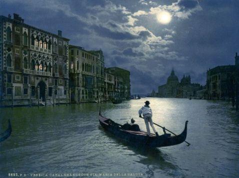 19 дивовижних кольорових знімків Венеції XIX століття