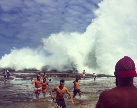 Найбільша хвиля в світі