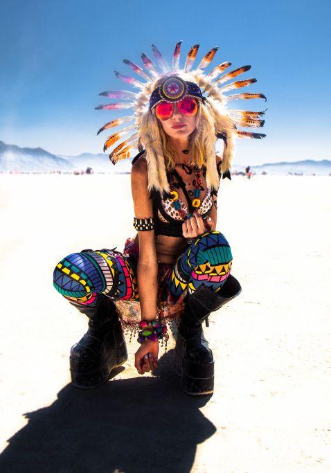 20 гарячих фото дівчат з найбільш унікального фестивалю у світі Burning Man