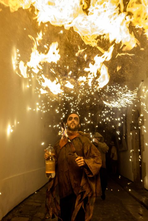 11 вражаючий знімків з іспанського свята Санта-Текла