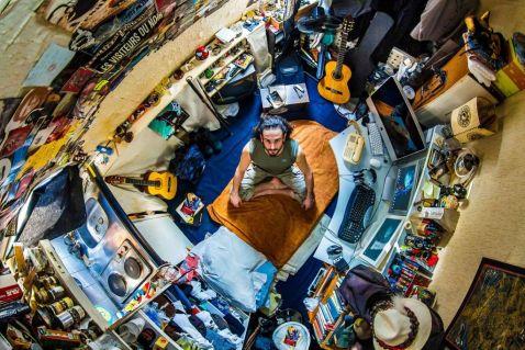 Зі стелі: як виглядають спальні людей зі всього світу