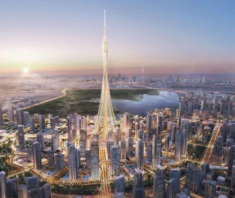 У Дубаї почали будувати нове найвищу будівлю у світі
