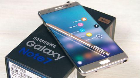 Samsung Galaxy Note 7 заборонили перевозити в літаках