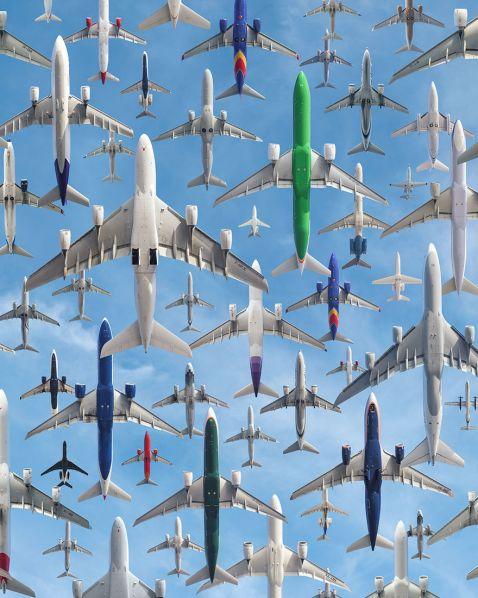 10 неймовірних фотографій повітряного трафіку з різних куточків світу