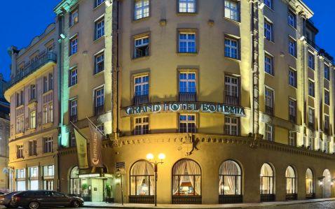 Ласкаво просимо в Grand Hotel Bohemia — готель, що відображає душу і настрій прекрасною Праги