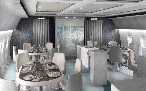 Політ у літаку коштує від $70 000, а пасажирів обслуговуватимуть особистий кухар і дворецький