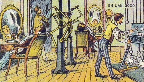 23 цікаві ілюстрації французьких художників 19 століття про майбутнє