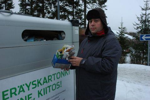 Як утилізують відходи в Фінляндії
