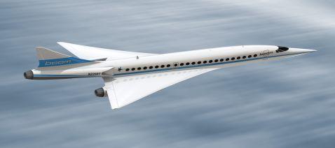 У США створили надзвуковий пасажирський літак