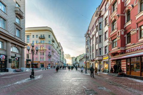 Найкрасивіша вулиця в Москві