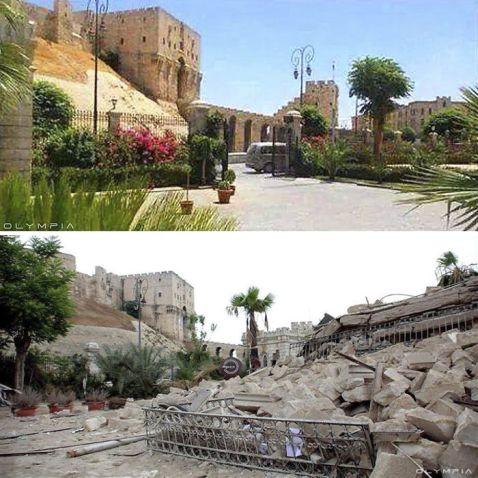 10 розривали серце фото про те, що війна зробила з Алеппо