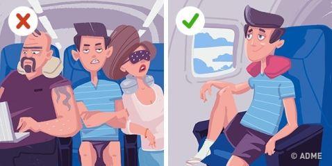 12 секретів комфортного польоту на літаку