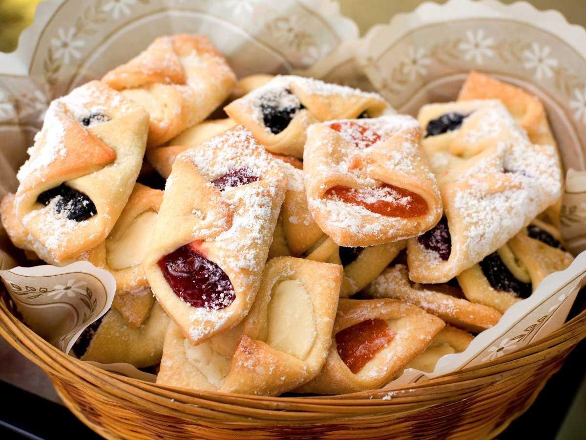 Печенье конвертики рецепт с фото