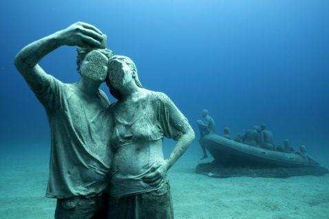 В Європі відкрився перший підводний музей