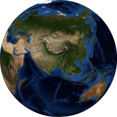 Найбільша частина світу
