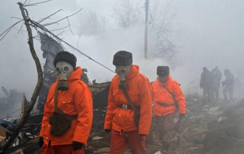 Впав турецький Boeing зруйнував половину селища в Киргизії: кадри з місця трагедії