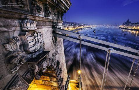 12 чарівних фото про те, як виглядає великий Дунай в 20-градусний мороз