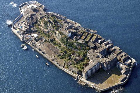 21 заборонений знімок занедбаного японського острова Гункандзіма