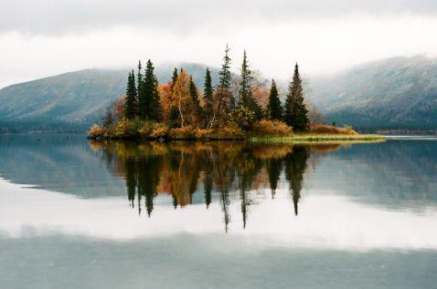Найкрасивіше озеро Росії