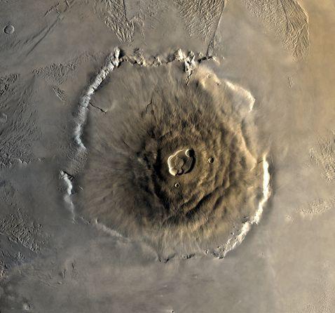 Найвища гора в Сонячній системі