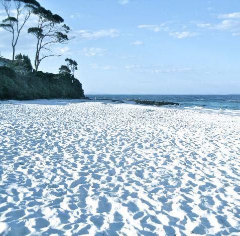 Самий білий пісок на пляжі