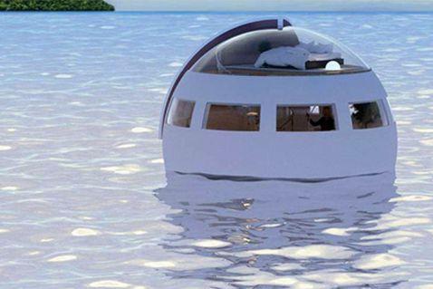 Японці відкриють плаваючий готель-капсулу