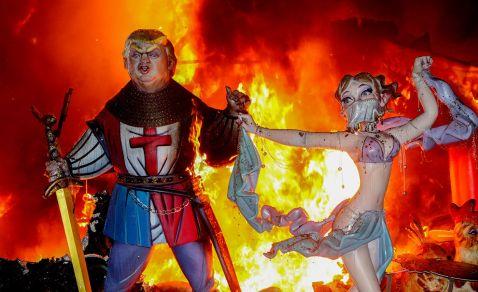 Свято вогню у Валенсії, який в наступний раз краще не пропускати