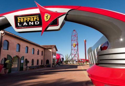 В Іспанії відкрився парк розваг, присвячений Ferrari