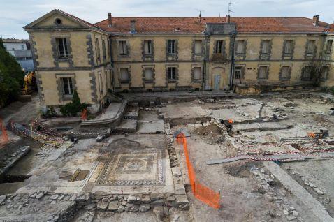 У Франції знайшли невідомий раніше давньоримське місто з прекрасними мозаїками!