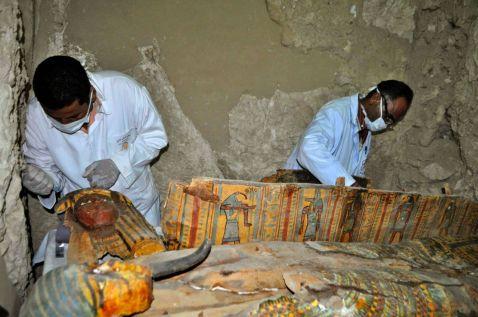 В Єгипті знайшли поховання з муміями, якому 3,5 тисячі років