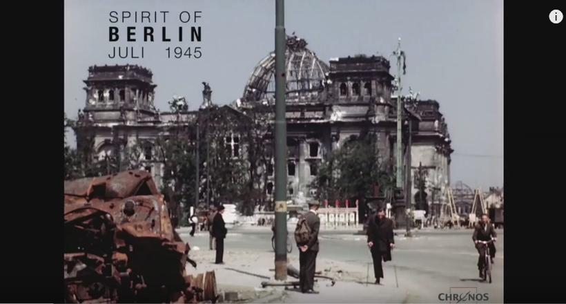 Завойований і зруйнований: унікальне відео Берліна і його жителів у липні 1945 року