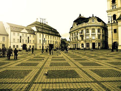 Сібіу — румунський містечко дихає старовиною
