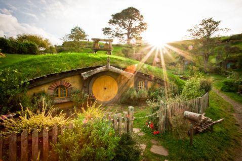 Відвідування села Гобітон у Новій Зеландії